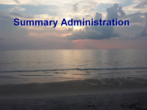 Florida Probate Summary Administration │ Video