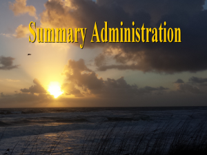 Florida Probate Summary Administration │ Video